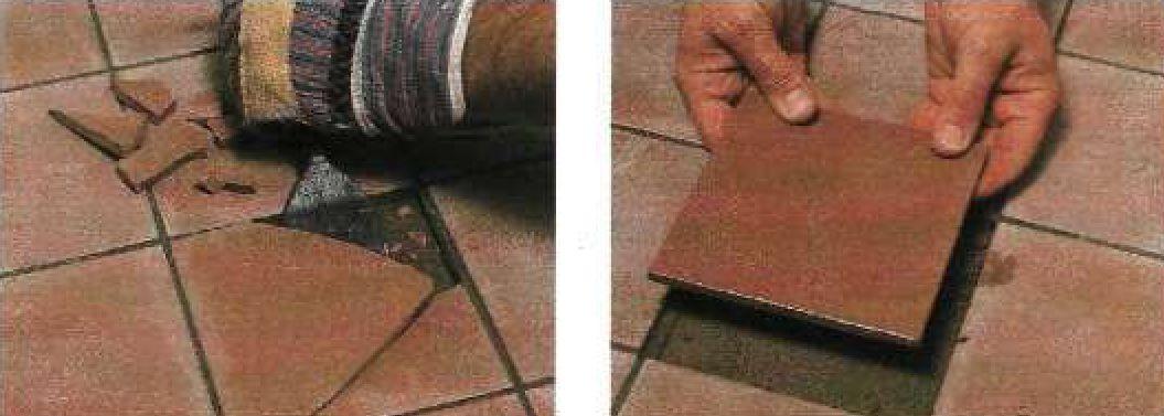 Замена плитки из природного камня