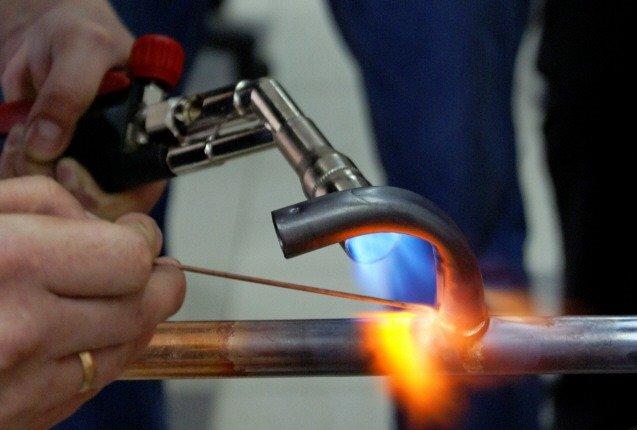Инструменты сантехника для пайки медных труб
