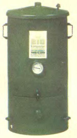 Такой современный компостный агрегат предназначен для дома.