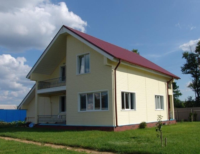 Строительство каркасного дома из легких стальных тонкостенных конструкций (ЛСТК)