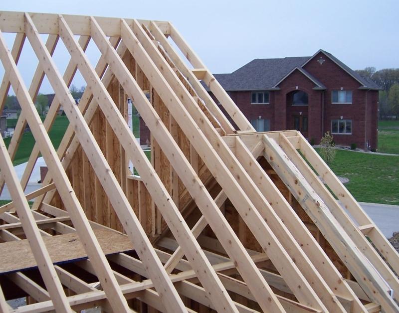 Стропильная система скатной крыши