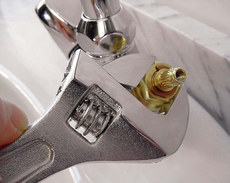 Замена кран-буксы смесителя