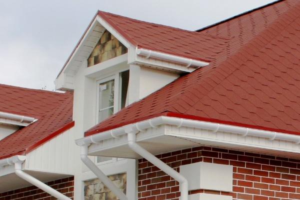 Крыша из натуральной керамической черепицы