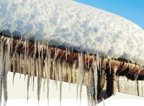 Борьба со льдом в водостоке