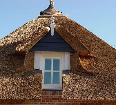 Крыша из камыша