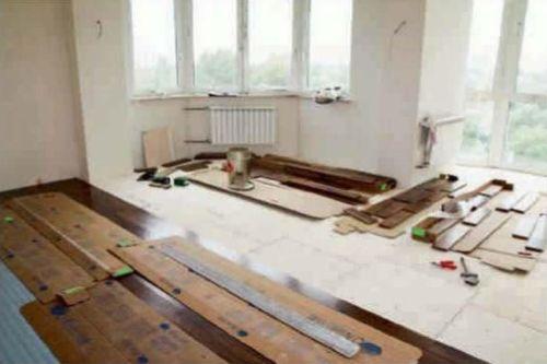 Особенности укладки деревянных напольных покрытий