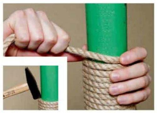 Как сделать когтеточку своими руками пошагово фото