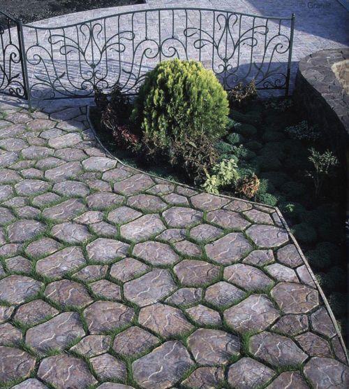 Покрытия и мощение садовых дорожек