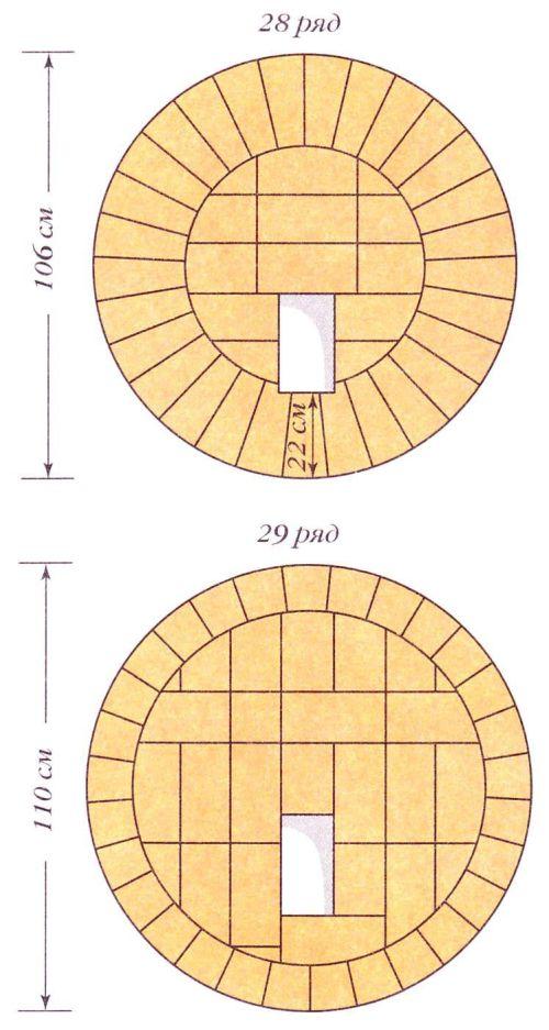 Порядовки (ряды 28-29)