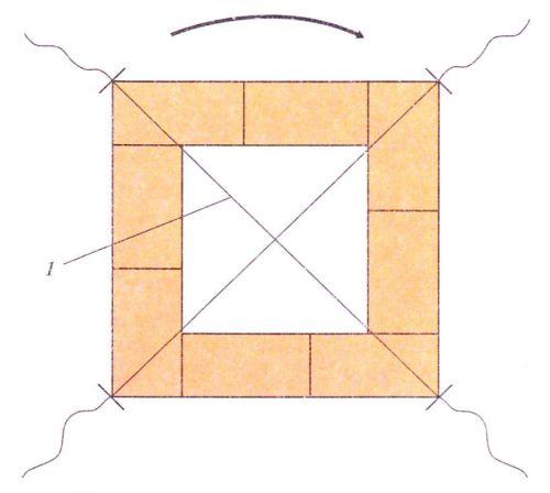 Схема проверки кладки печи