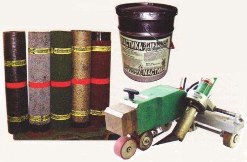 Материалы и инструмент для устройства плоской крыши