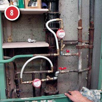 Схема установки счётчиков воды в квартире
