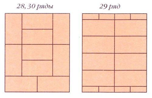 """Печь """"Малютка-1"""". Порядовки (ряды 28-30)"""