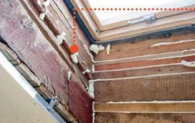 Типичные ошибки монтажа мансардных окон