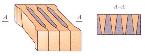 Колосниковая решетка из целых кирпичей