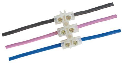 Соединение проводов при помощи клеммной колодки