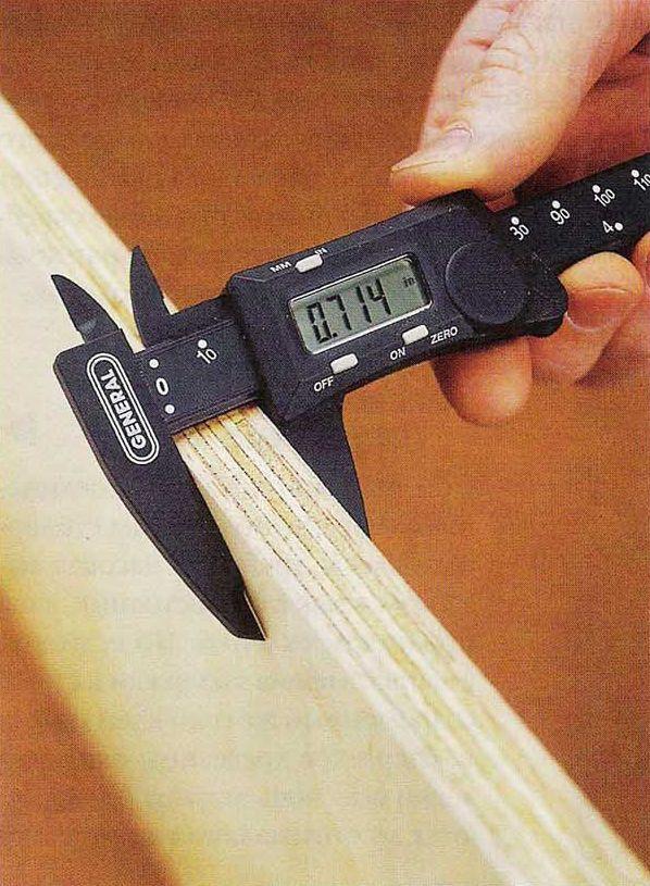 Проверяйте толщину листовых материалов