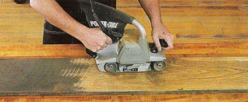 Удалите последний слой загрязнений или старого отделочного покрытия
