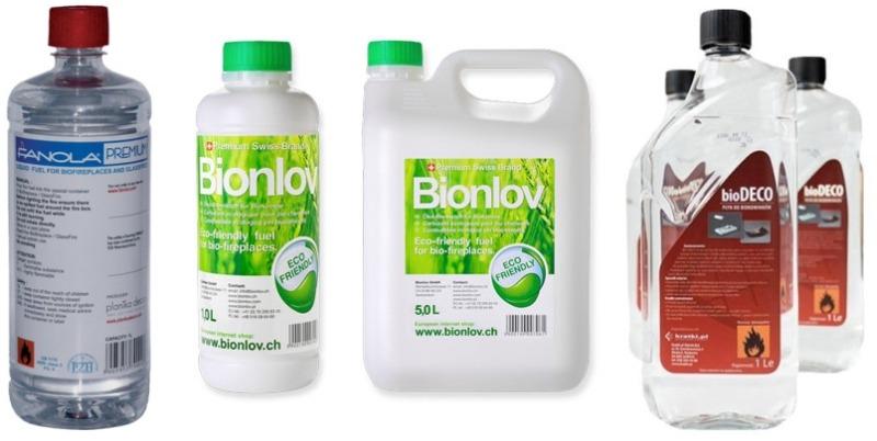 Биотопливо для биокамина