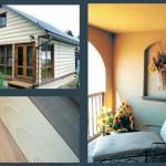 Варианты отделки фасада дома