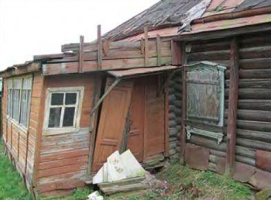 Наш старый деревенский дом
