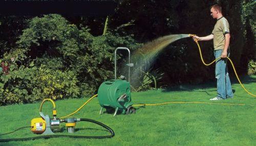 Поверхностный насос для полива сада