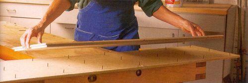 Доски с гвоздями ускорят процесс грунтования