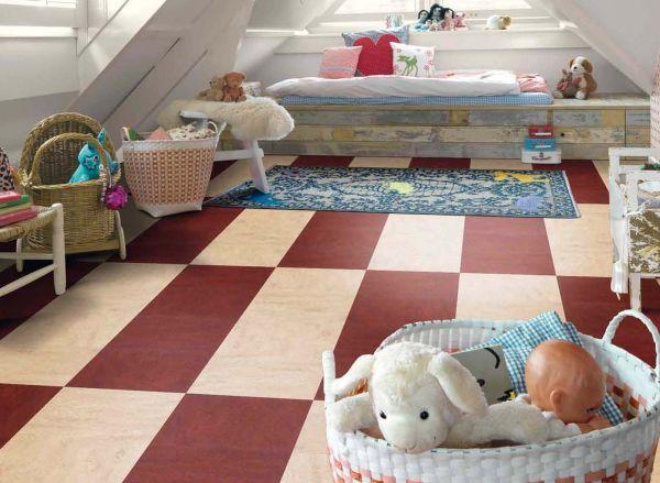 Marmoleum в детской комнате