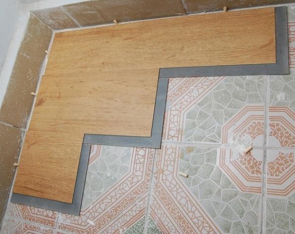 Укладка виниловой плитки Contesse Floor