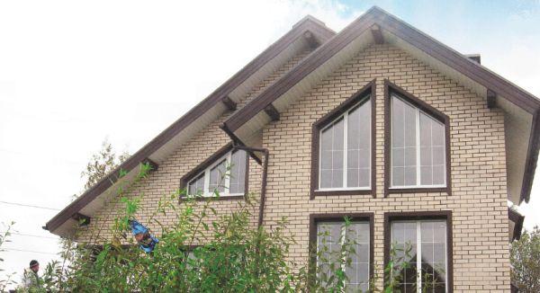 Строим утепленный дом из бруса