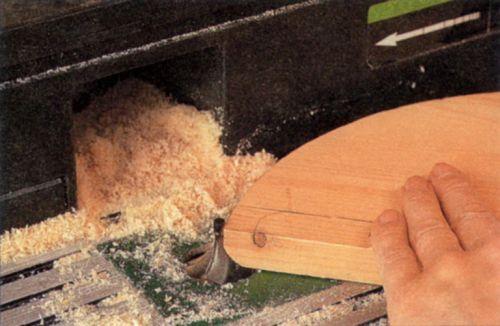 Фрезерование фасонных кромок радиусной фрезой