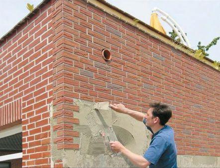 Клеевые смеси для внешней отделки фасада