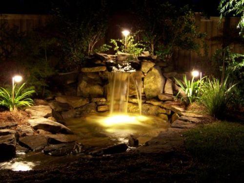 Декоративное освещение и подсветка