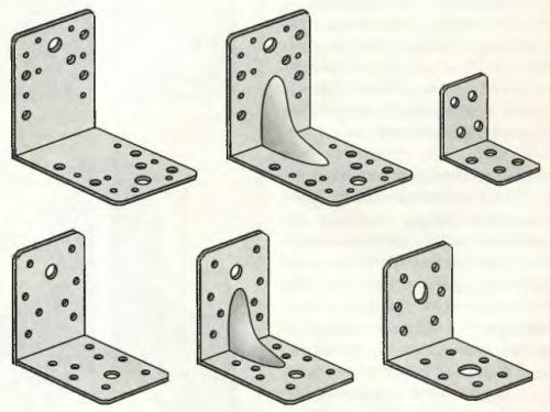 Крепежные уголки