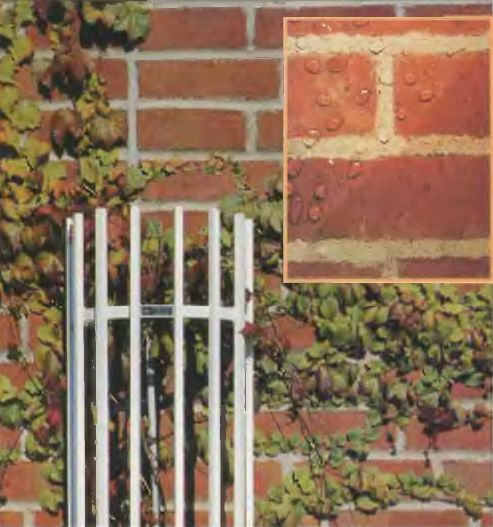Защита кирпичной кладки от влаги