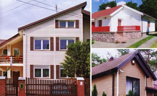 Отделка фасада дома виниловым сайдингом