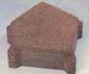 Многоугольные камни с фиксаторами расстояния