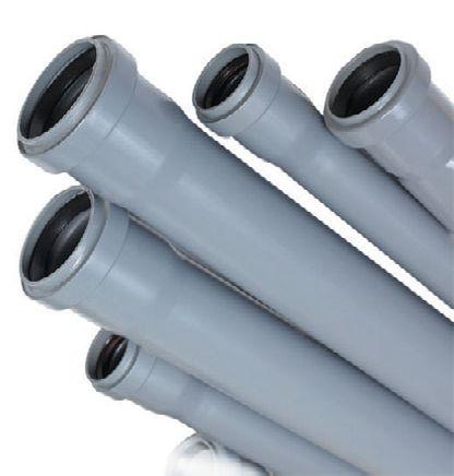 Трубы из поливинилхлорида (ПВХ)