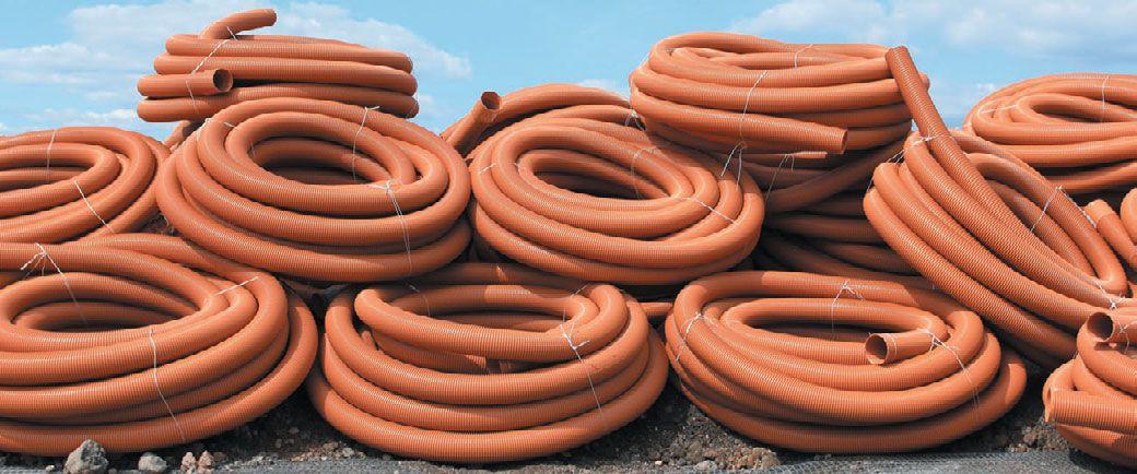 Гибкие канализационные трубы из поливинилхлорида (ПВХ)