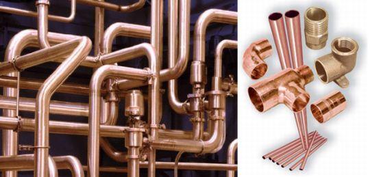 Виды водопроводных труб и фитингов