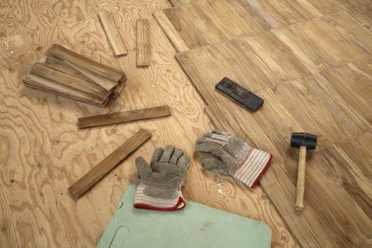 Укладка напольного покрытия своими руками