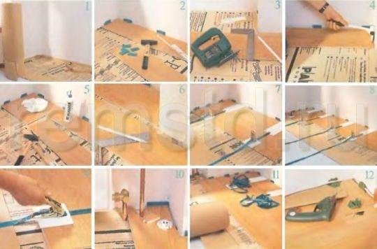 Натяжные ремни помогут создать точное и плотное соединение половиц