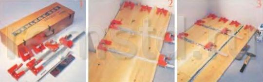 Струбцины для любых деревянных полов
