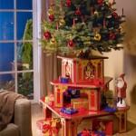 Новогодняя подставка для подарков и елки