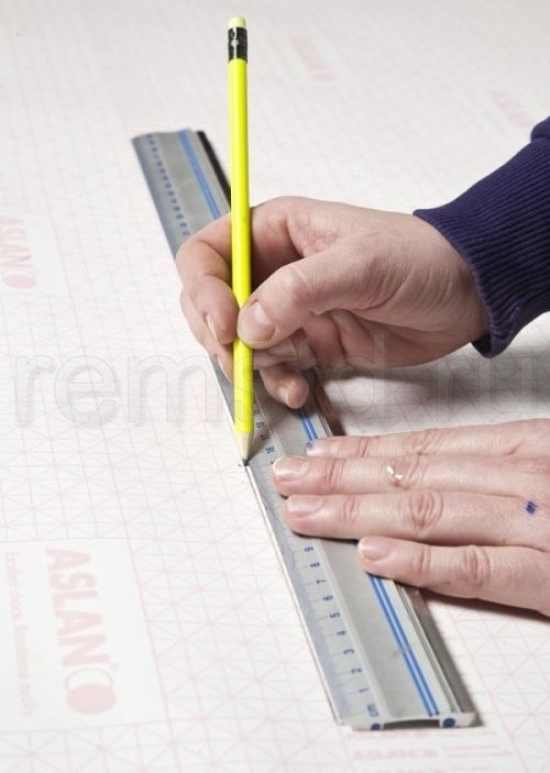 Декорирование стен - нарисованная мебель