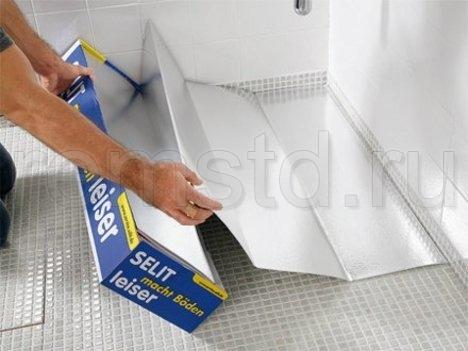 Укладка ламината в ванной комнате
