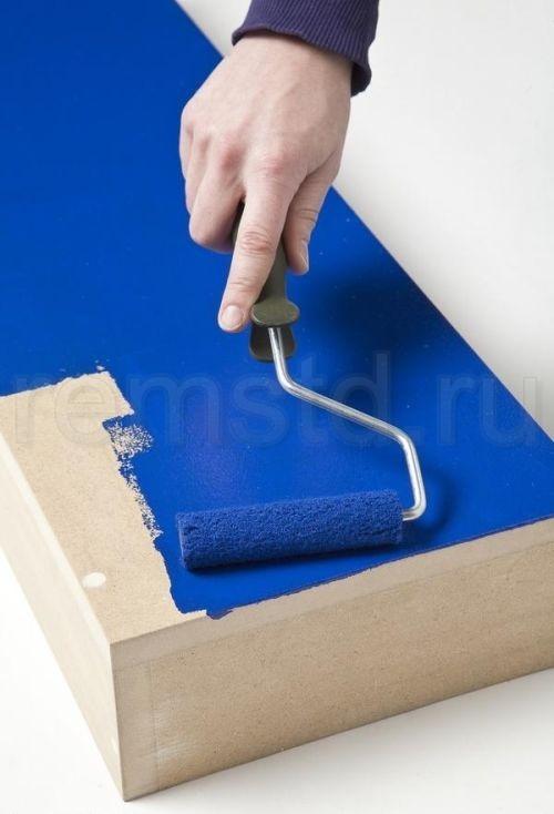 Декорирование стен — нарисованная мебель