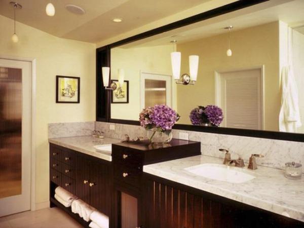 Дизайн и интерьер ванной комнаты для супругов