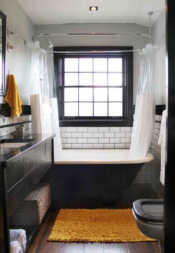 Дизайн и интерьер маленькой ванной комнаты