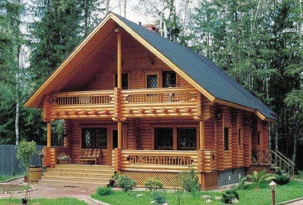 Способы компенсации усадки деревянного дома
